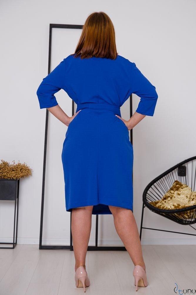 Chabrowa Sukienka MATICA Plus Size