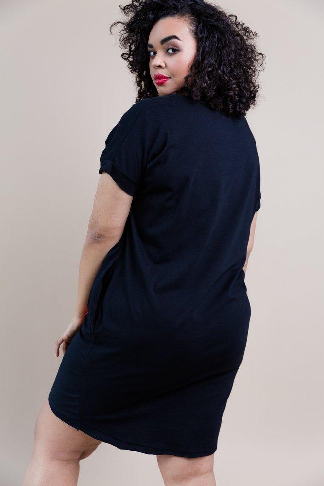 Czarna Sukienka LOLLY