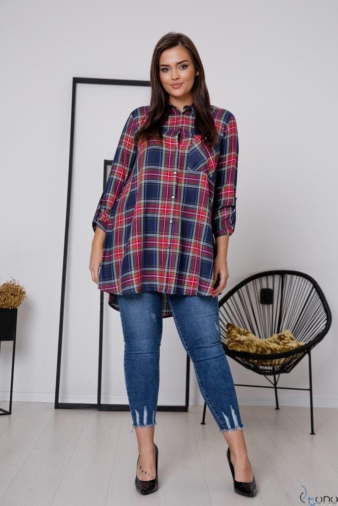 Koszula FLANEL Plus Size Wzór 3