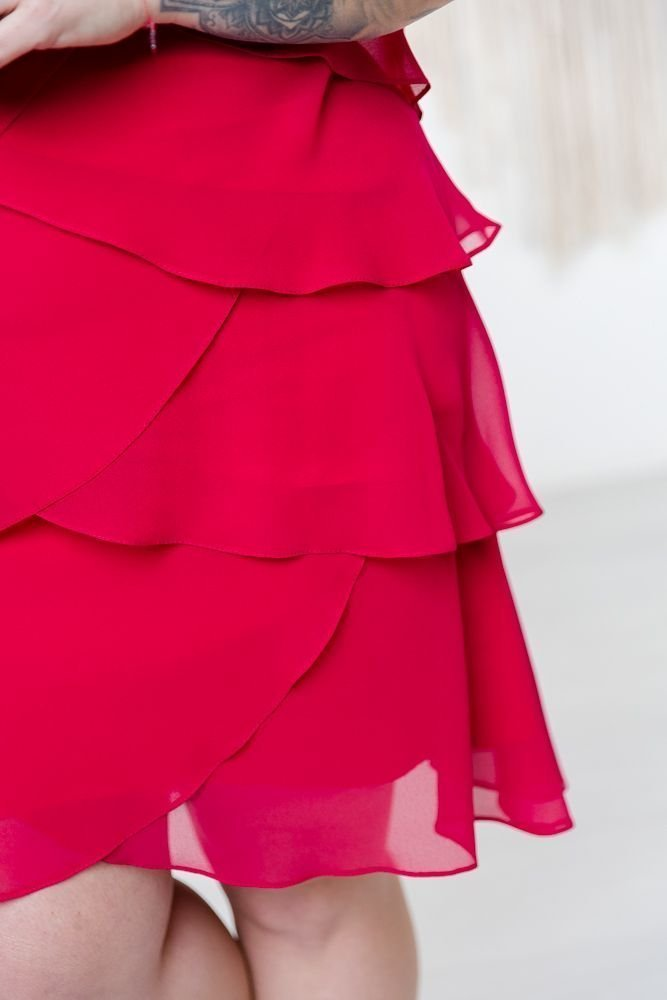 Malinowa Sukienka SUZIE