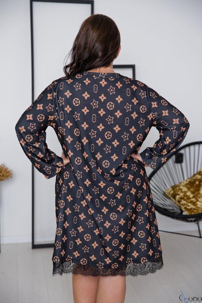 Sukienka FORCY Plus Size Wzór 2