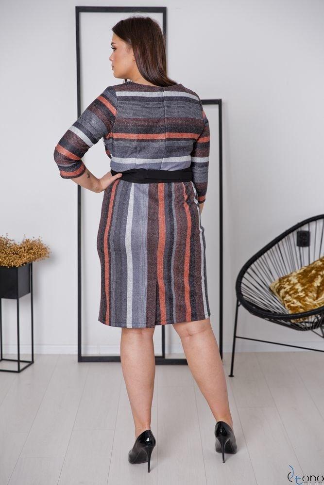 Sukienka LARIZ Plus Size Wzór 6