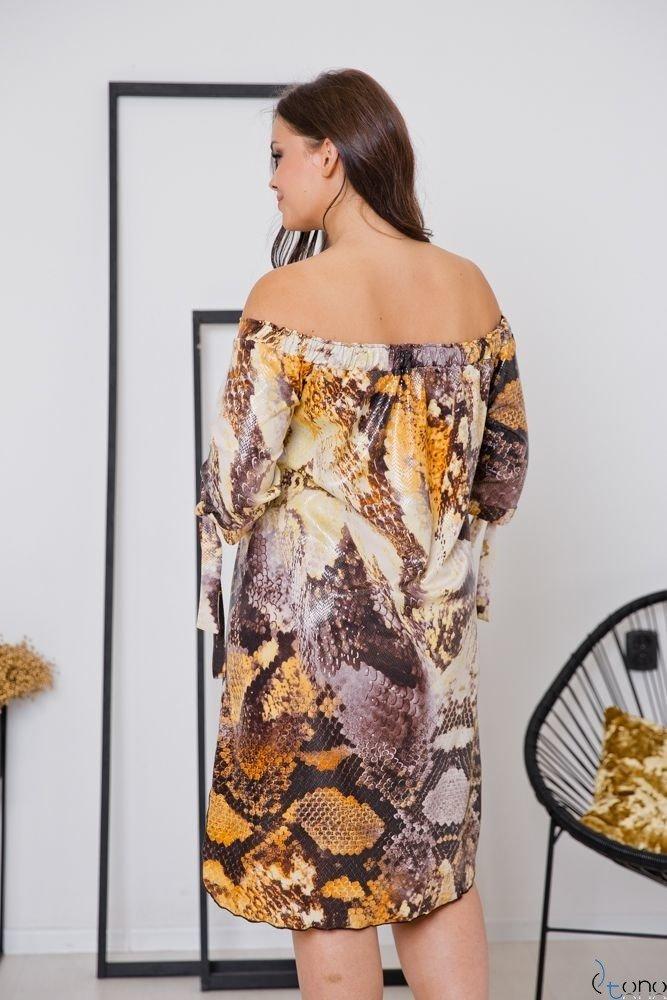 Sukienka SNAKE Plus Size Wzór 6