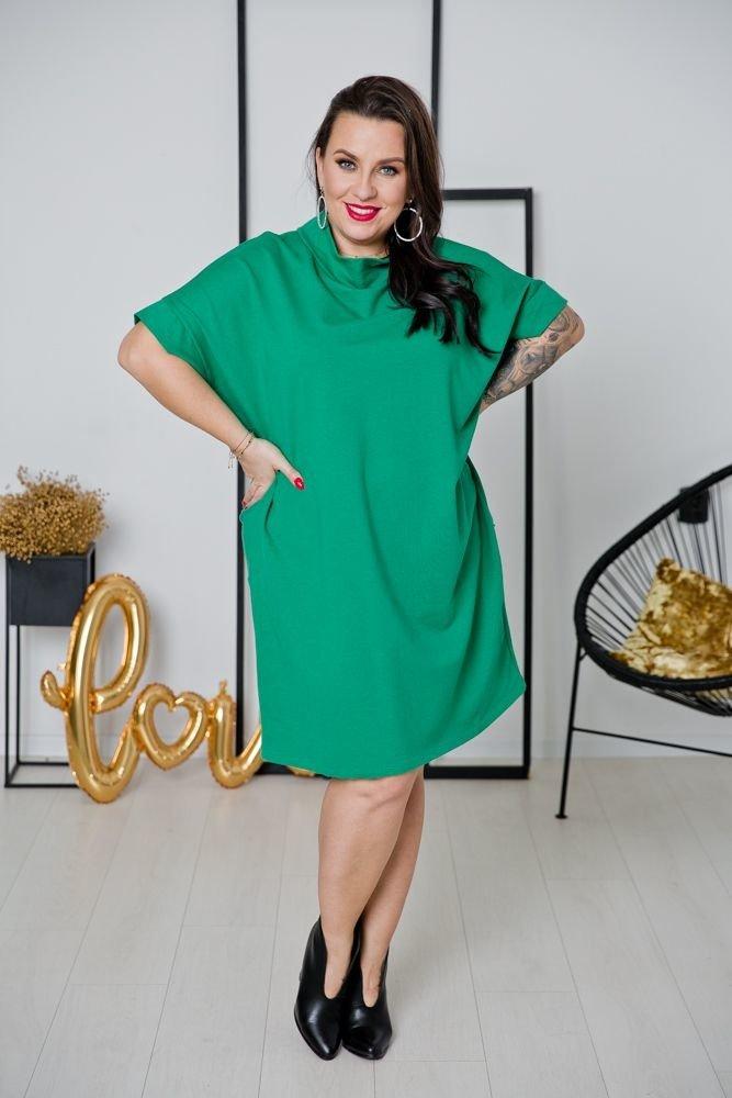 Zielona Sukienka ORDINA Plus Size