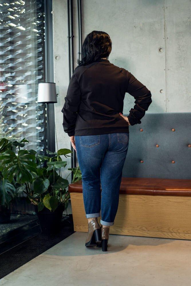 Bluza damska BROOKLYN Bomberka Designerska Plus Size