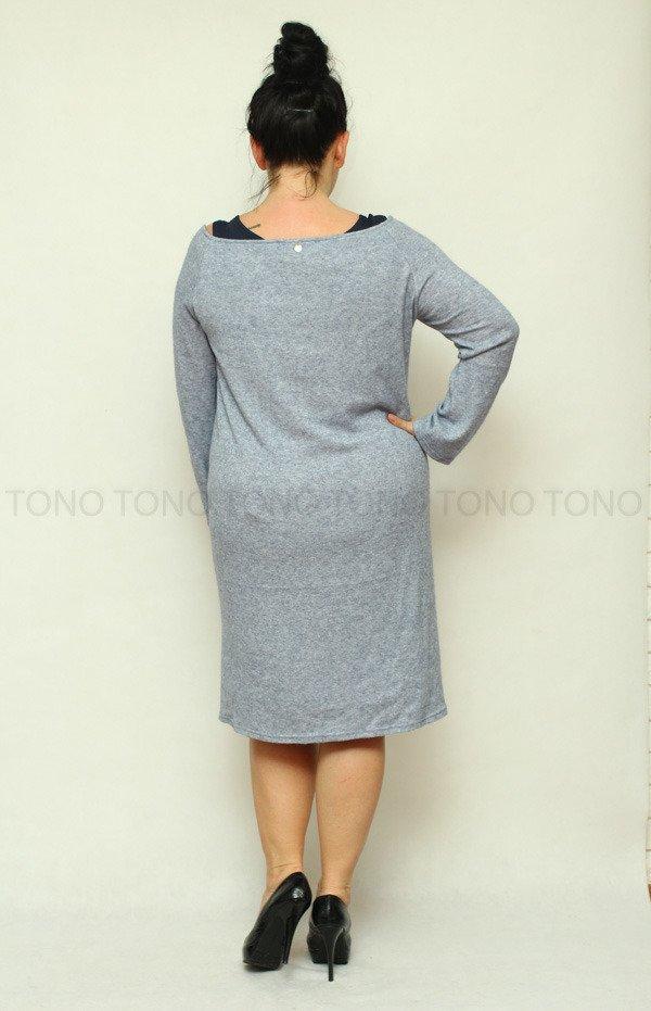Damska sukienka LIBERIA dzianinowa Size Plus