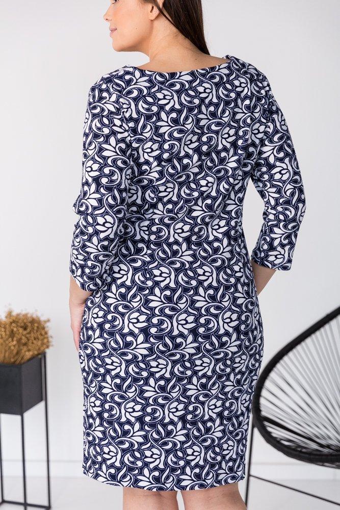 Sukienka BRECIA Plus Size Wzór 6