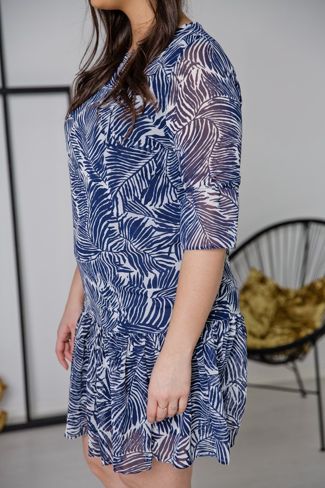 Sukienka ESTI Plus Size Wzór 15