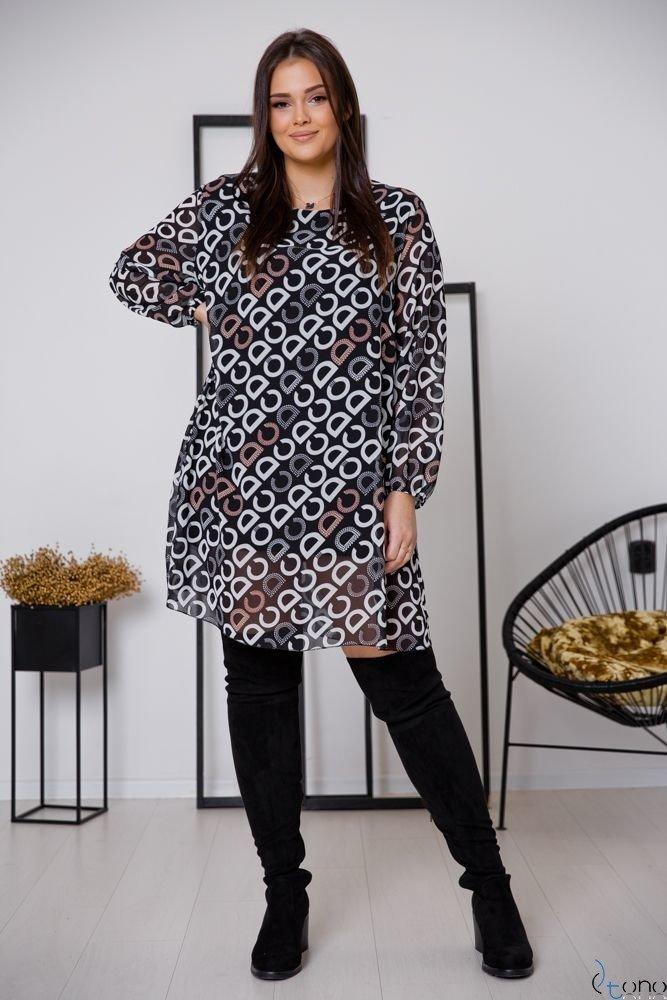 Sukienka SELLINA Plus Size Wzór 3