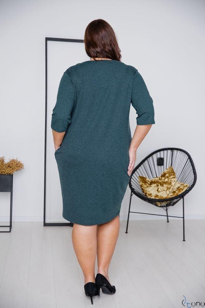 Zielona Sukienka ELIA Plus Size